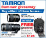 Free Tamrac Backpack Worth £125 With Selected Tamron Lenses