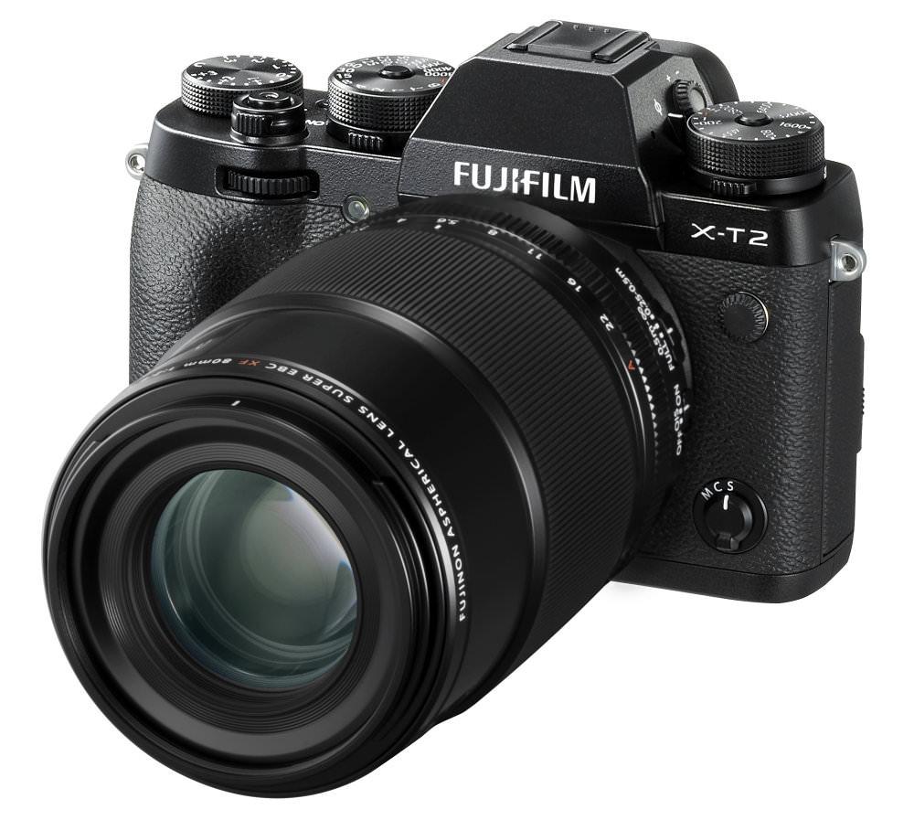 X T2 Black FrontObl+XF80mmF2