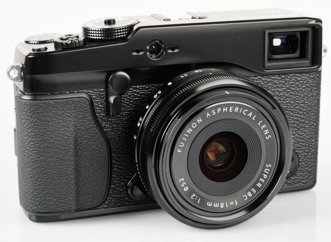 Fujifilm X-Pro 1 With 18mm Lens