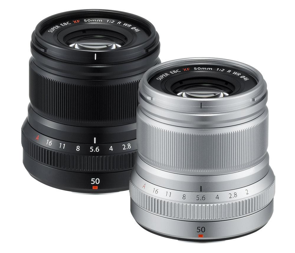 XF50mmF2 R WR Black+Silver Oblique 01