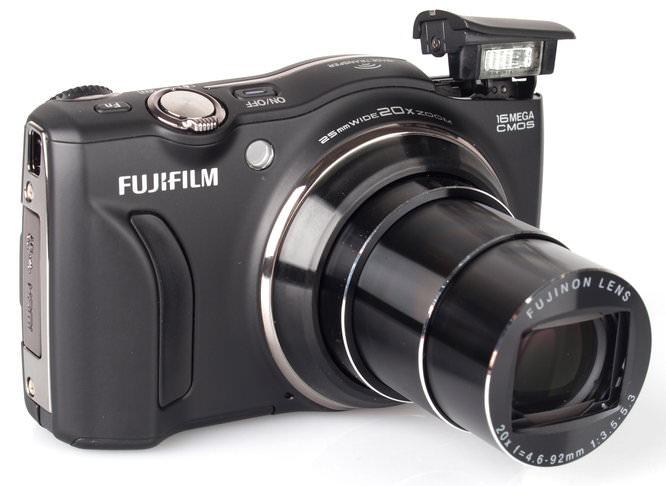 Fujifilm Finepix F800exr Black (6)