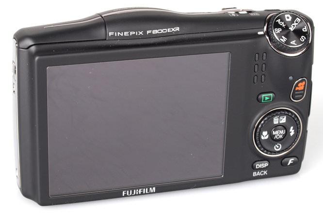 Fujifilm Finepix F800exr Black (8)