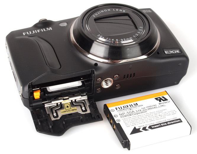 Fujifilm Finepix F800exr Black (9)