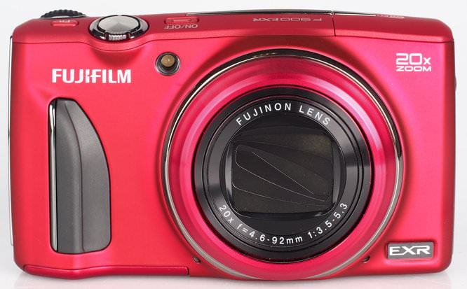 Fujifilm FinePix F900EXR Red (2)