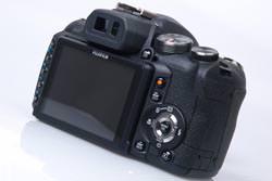 Fujifilm FinePix HS10 back image