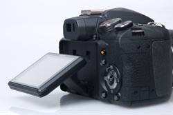 Fujifilm FinePix HS10 screen