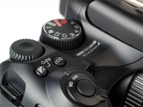 Fujifilm FinePix S200 EXR shutter release