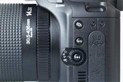 Fujifilm FinePix S200 EXR side view