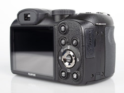 Fujifilm Finepix S2800HD back