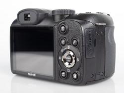 Fujifilm Finepix S2800HD back