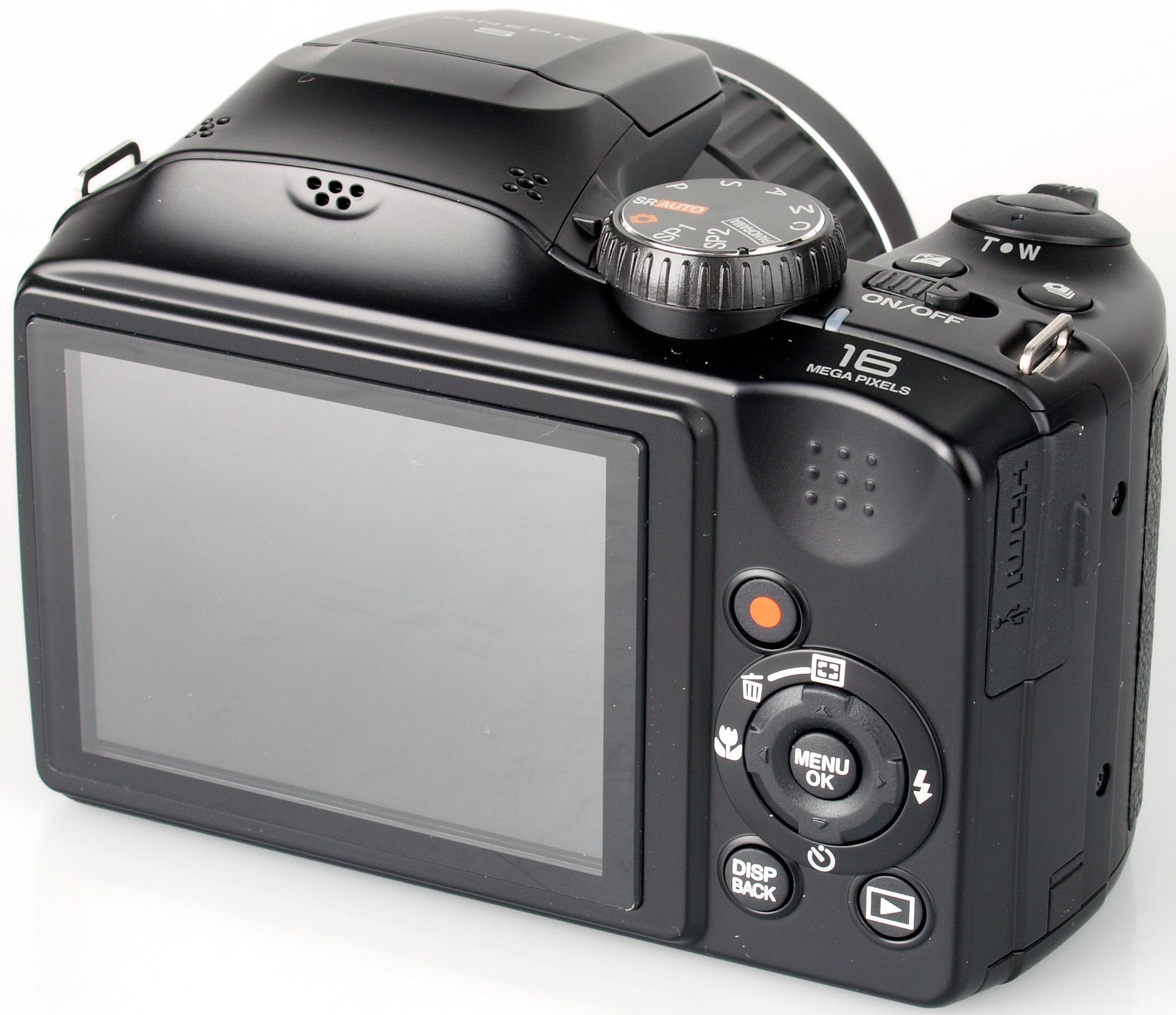 Camera Fujifilm S 4800 Preto No Paraguai