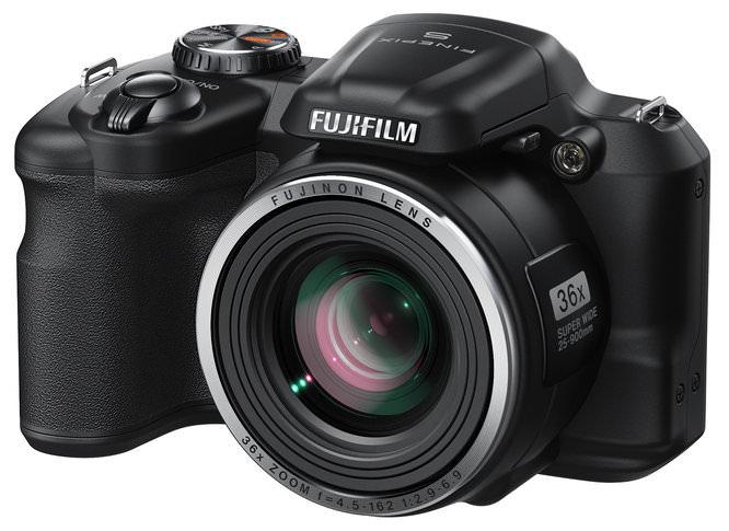 Fujifilm FinePix S8600 Black Front Left