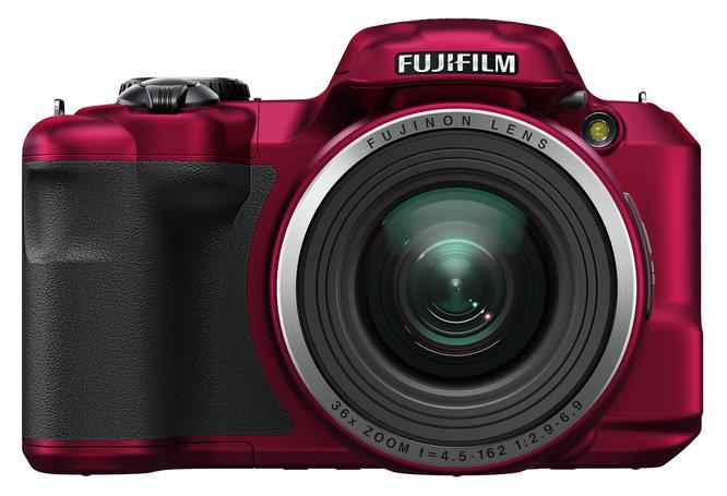 Fujifilm FinePix S8600 Red Front