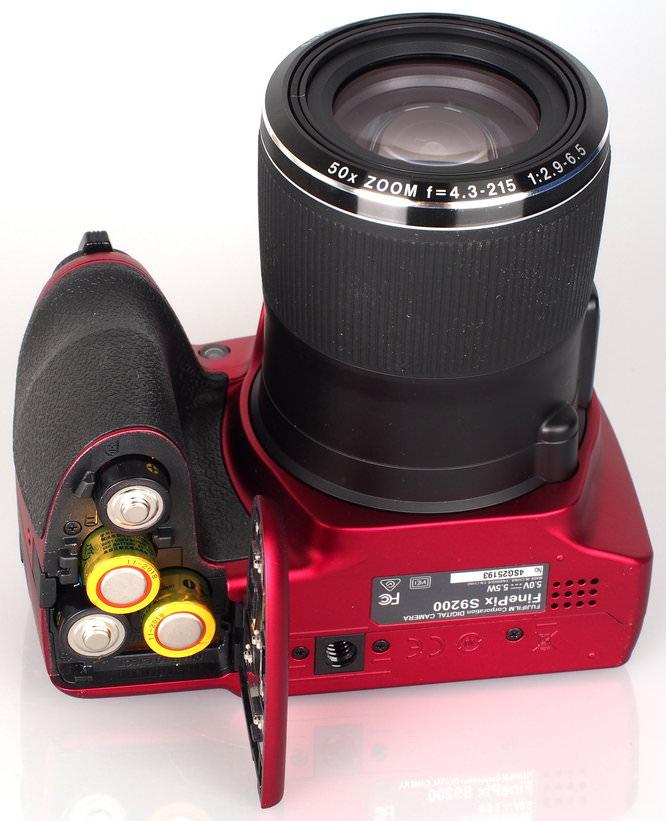Fujifilm FinePix S9200 Red (1)