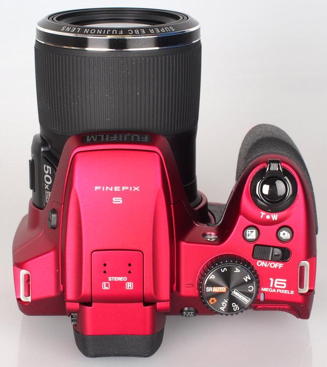 Fujifilm FinePix S9200 Red (8)