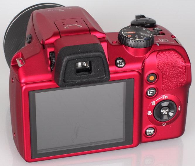 Fujifilm FinePix S9200 Red (9)