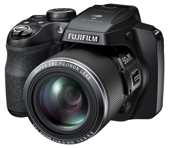 Fujifilm FinePix S9400W Black Front Left