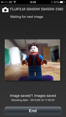 Fujifilm Finepix S9400w App Screenshot 1