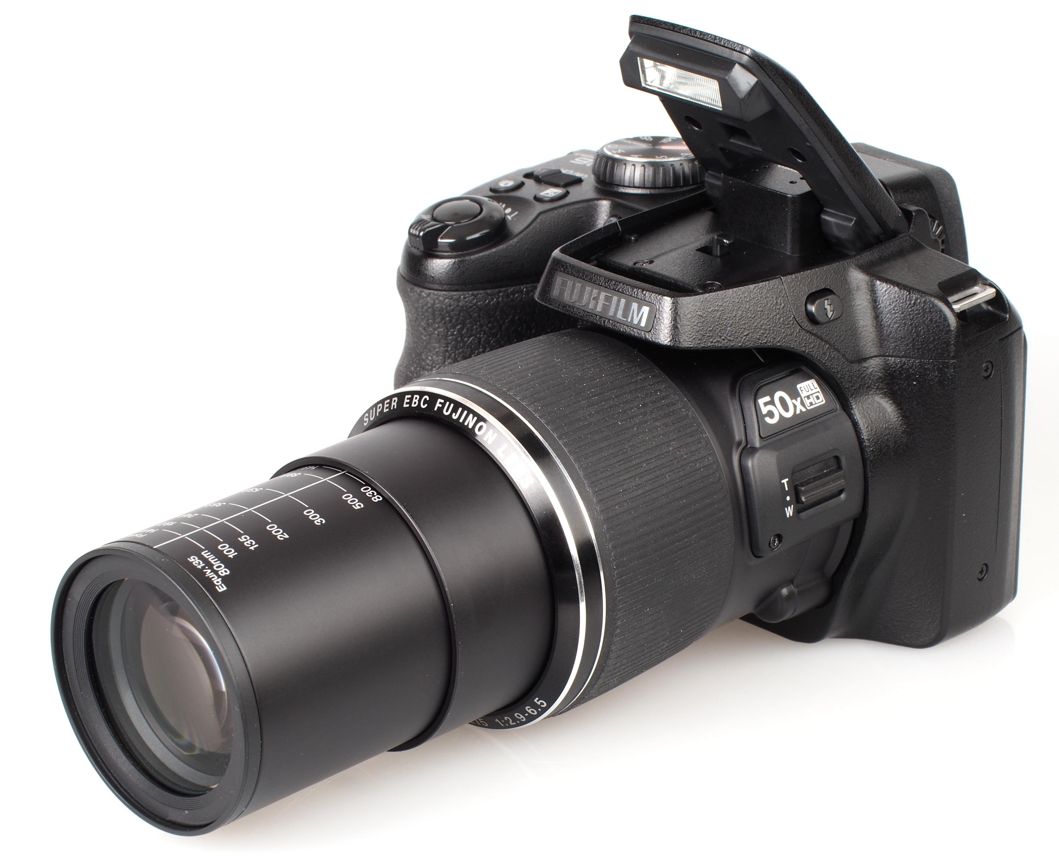 Fujifilm FinePix S9900W S9800 Review