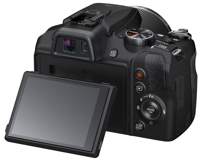 Fujifilm Sl1000 Rear Tilting Screen
