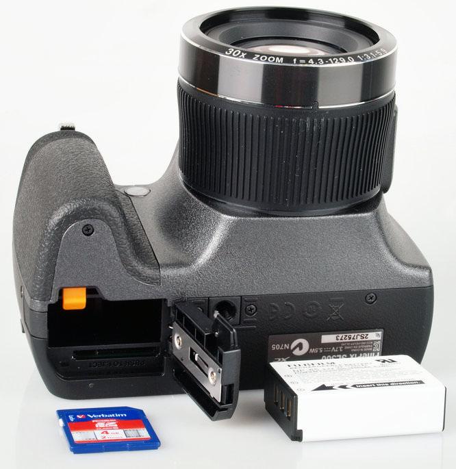 Fujifilm Finepix Sl300 Battery And Memory Card