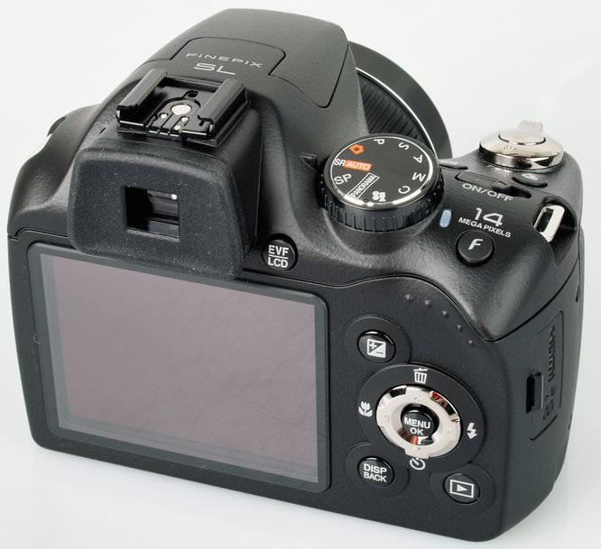 Fujifilm Finepix Sl300 Rear