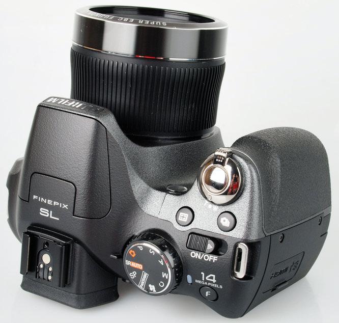 Fujifilm Finepix Sl300 Top