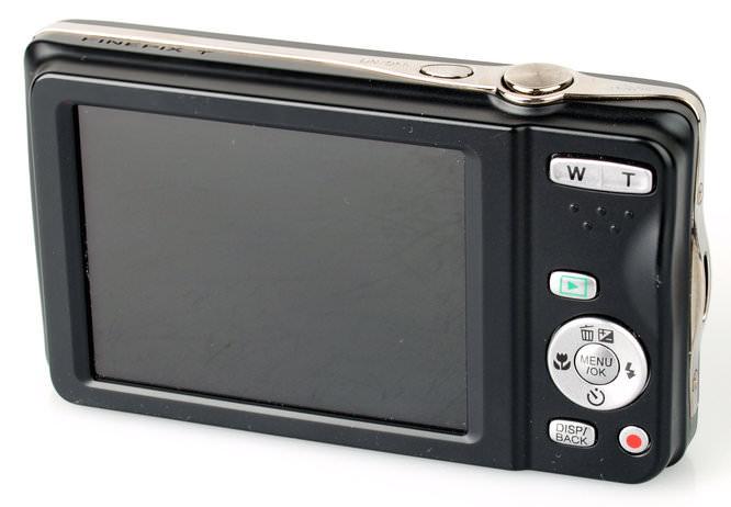 Fujifilm Finepix T400 Rear