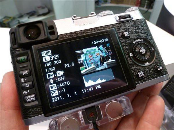 Fujifilm X100 ISO.