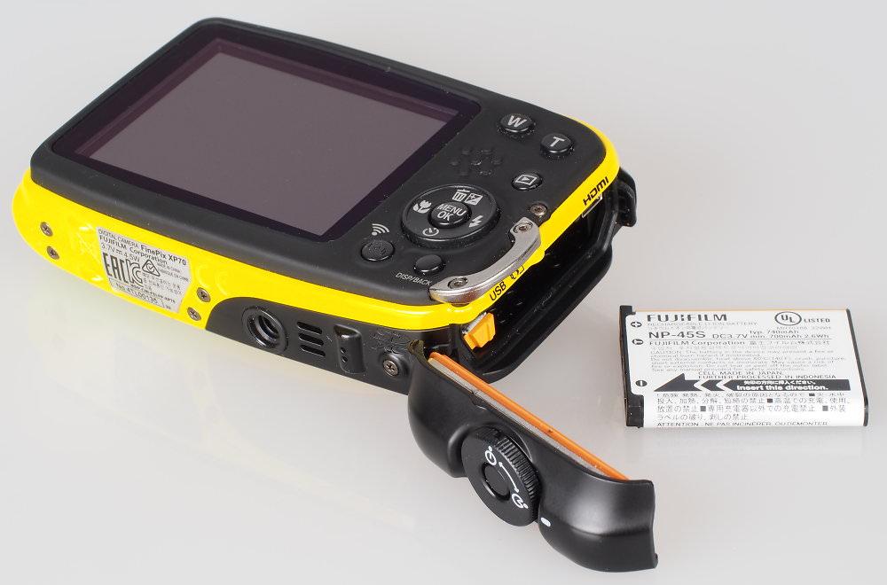 Fujifilm FinePix XP70 Yellow (1)