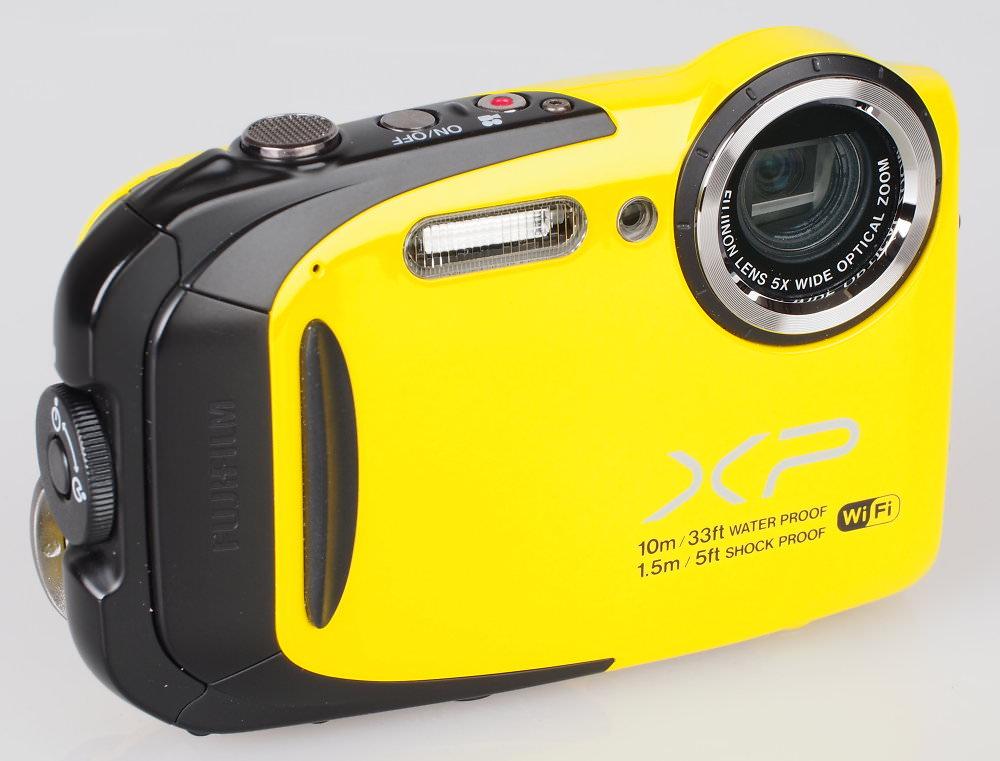 Fujifilm FinePix XP70 Yellow (4)