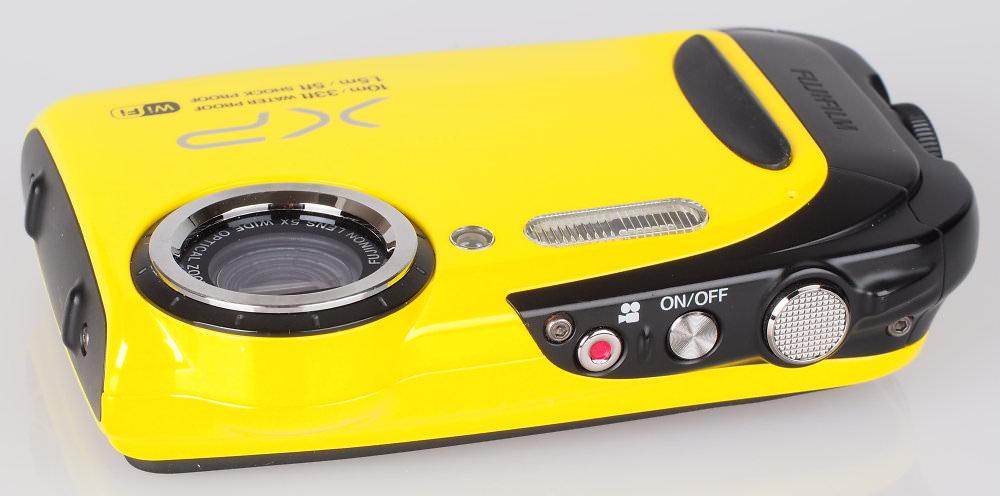 Fujifilm FinePix XP70 Yellow (6)