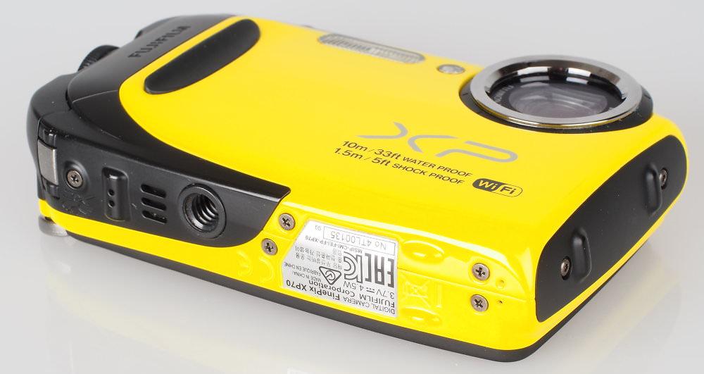 Fujifilm FinePix XP70 Yellow (7)