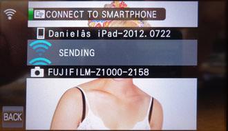 Fujifilm Finepix Z1000 Wi Fi Screenshot 3