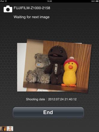Fujifilm Finepix Z1000 Wi Fi Screenshot Ipad 1
