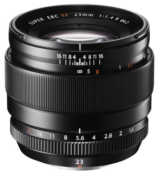 Fujinon 23mm f/1.4 R