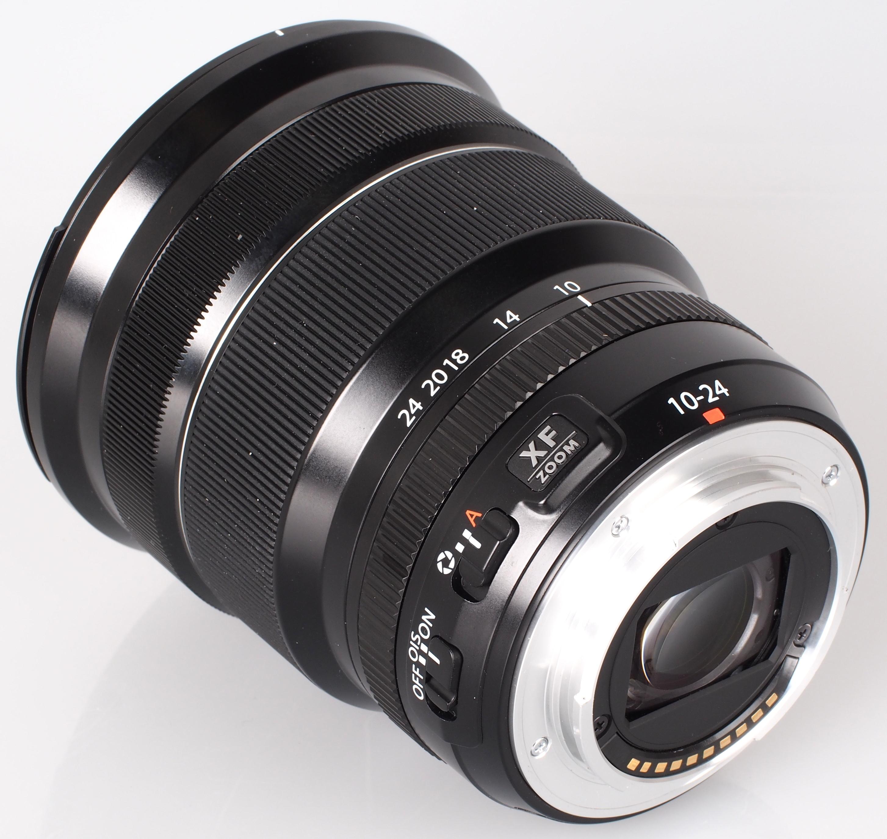 Parasole Metallo 72mm nero per Fujifilm XF 10-24 mm F4 OIS