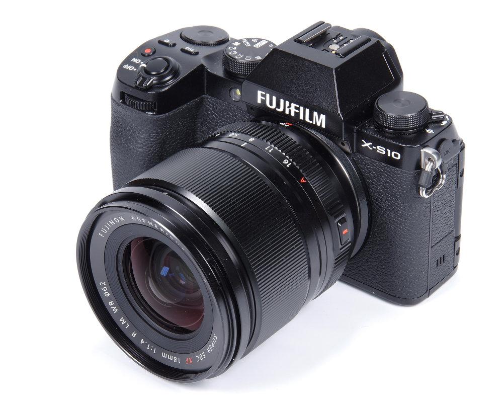 Fujifilm XF 18mm F1,4R LM WR On X S10
