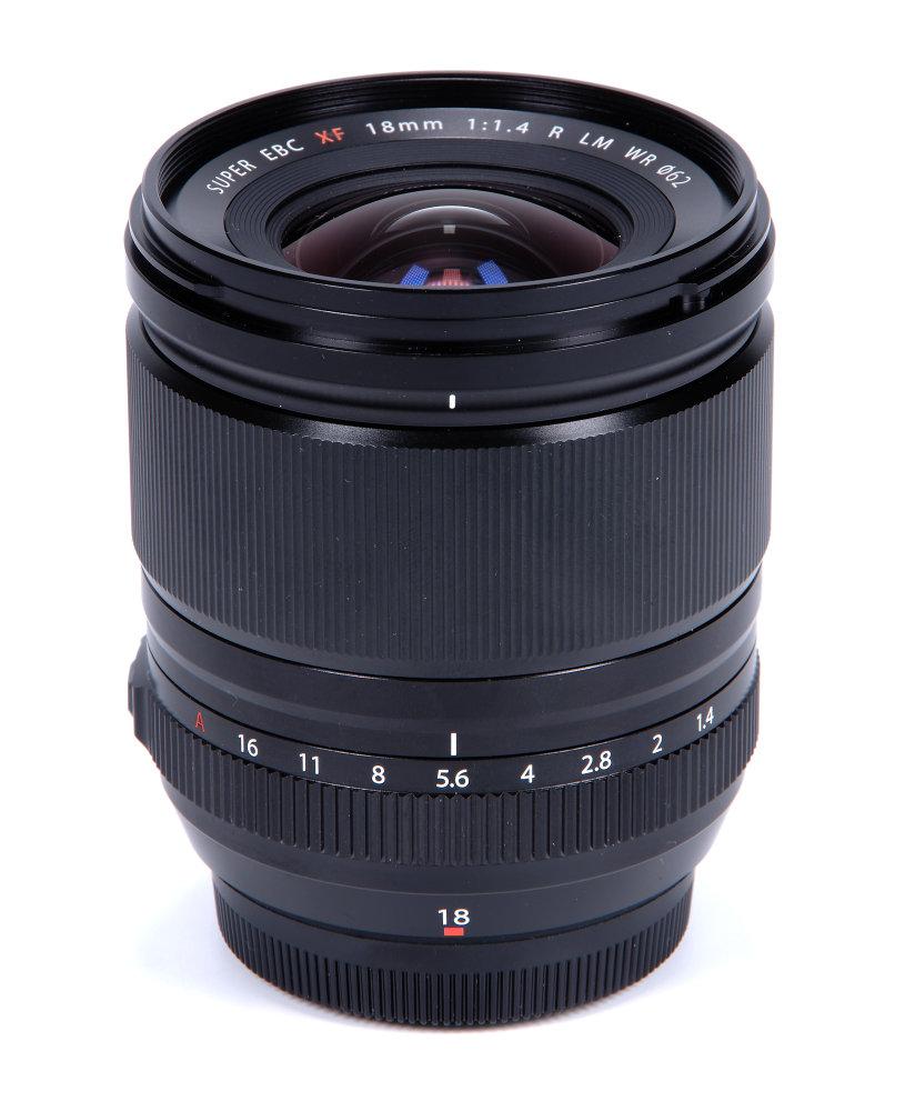 Fujifilm XF 18mm F1,4R LM WR Vertical View