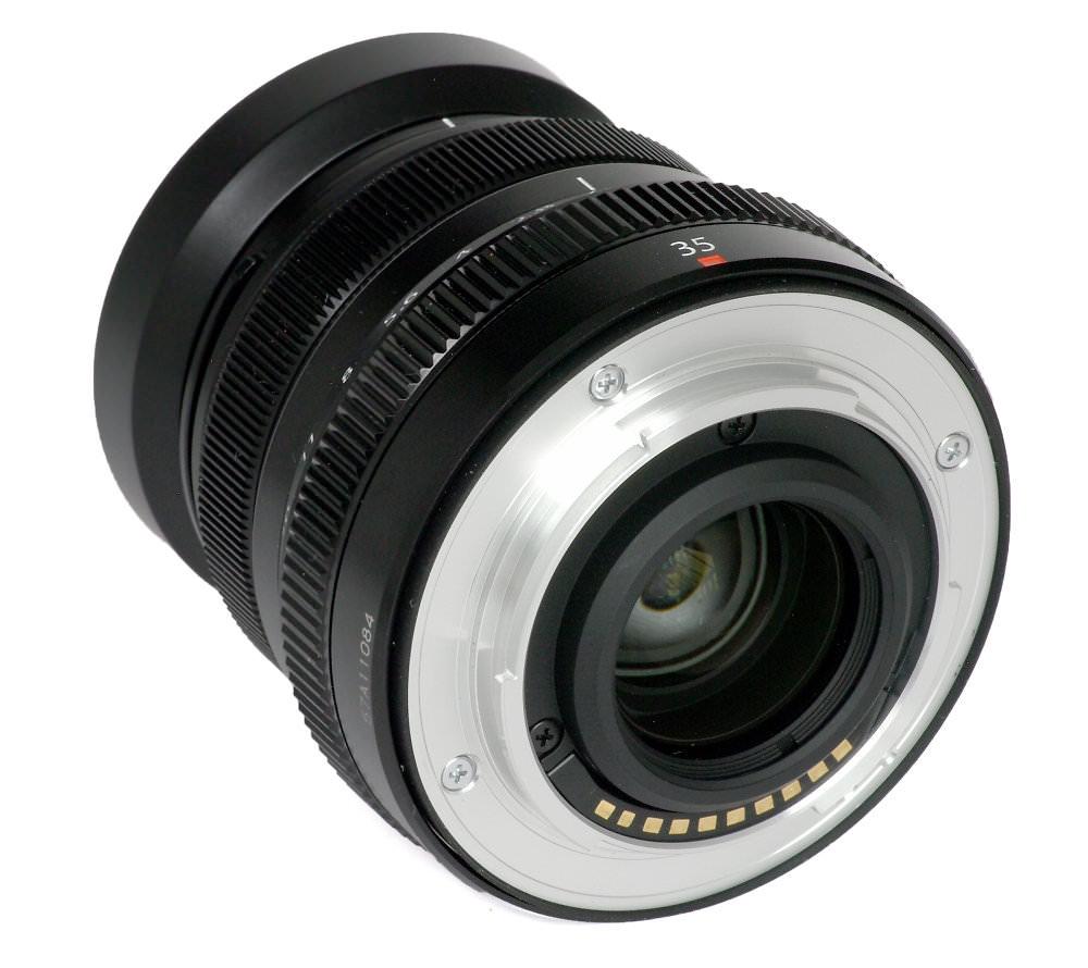 Fuji Xf 35mm F2 Rear Three Quarter View