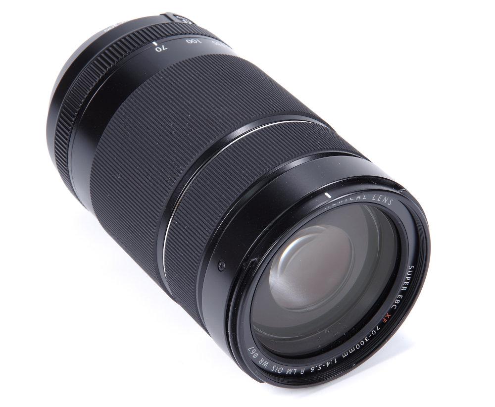 Fujifilm XF 70 300mm Front Oblique View