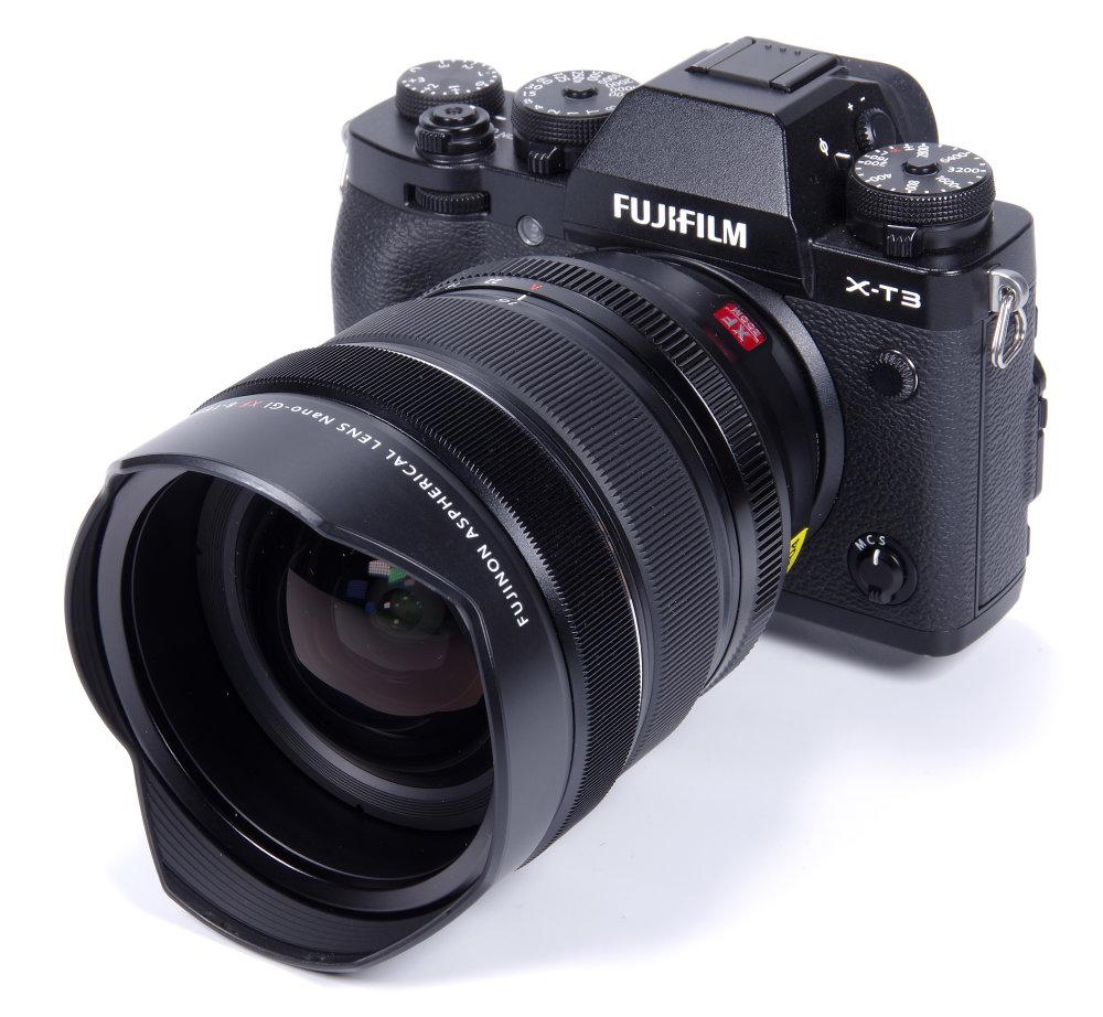 Fujinon XF 8 16mm F2,8 On Fujiflm X T3