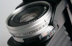 Fujifilm GF670 Professional - aperture ring