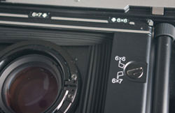 Fujifilm GF670 Professional - film format switch