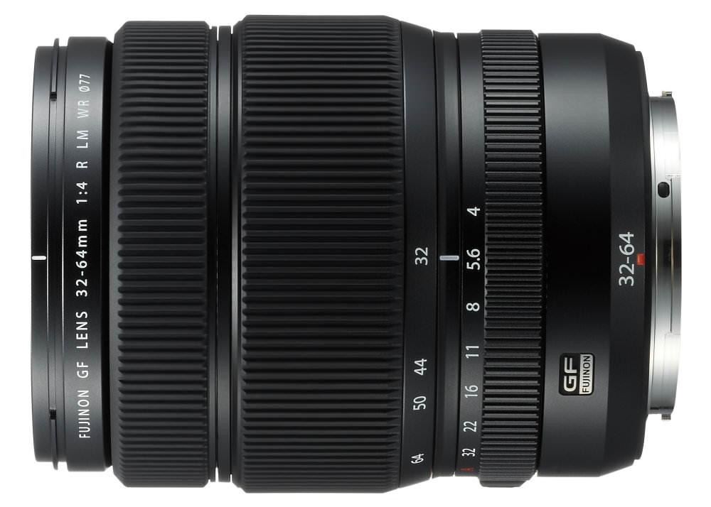 GF32 64mm F4 R LM WR Hrizontal Side