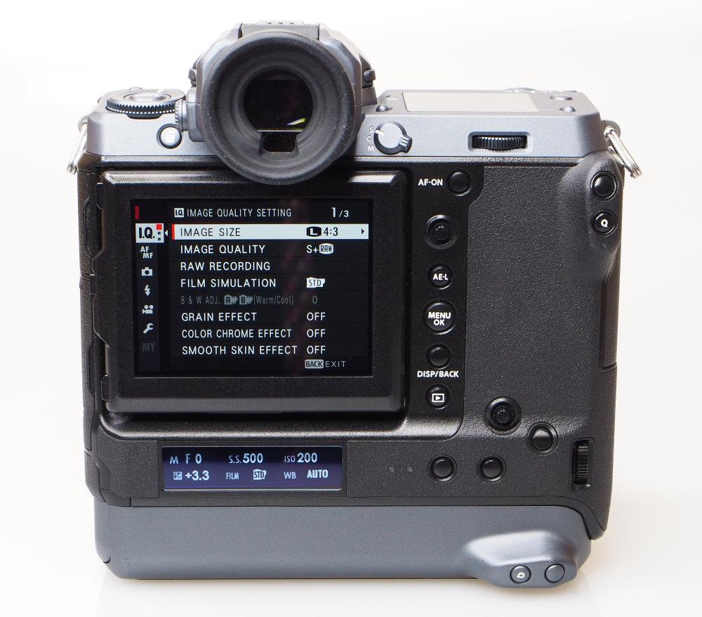 Fujifilm GFX100 Rear (3)