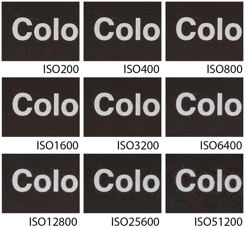 Fujifilm Gfx100 Fine Detail ISO Speeds |