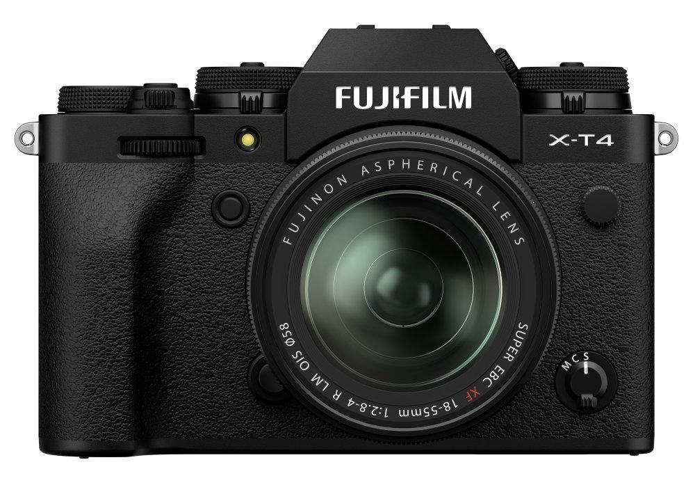 X T4 Front1855lens Black