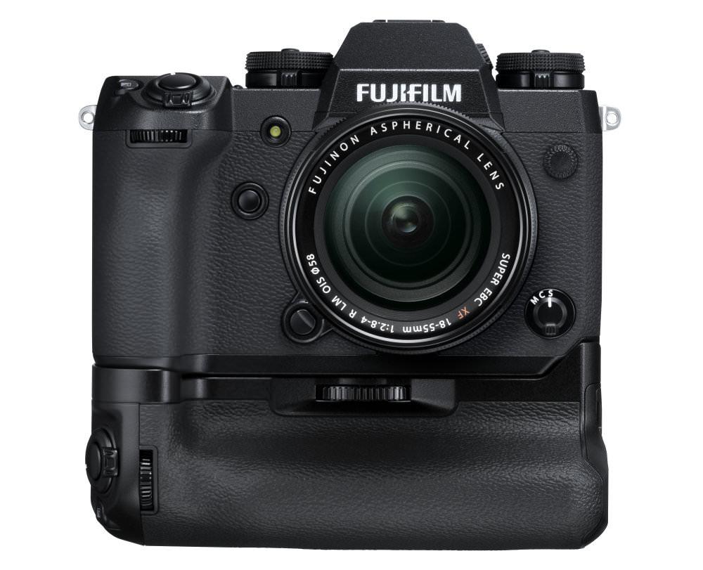X H1 Black Front+VPB XH1+XF18 55mm