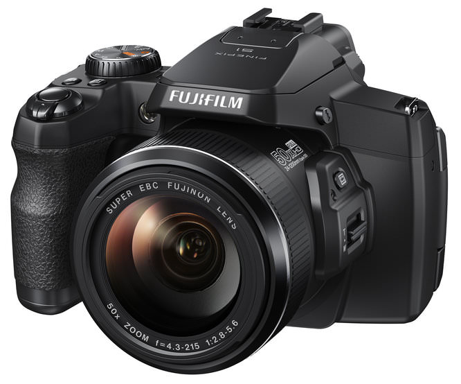 Fujifilm FinePix S1 Black Front Left